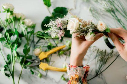 Flower Bouquet Workshop