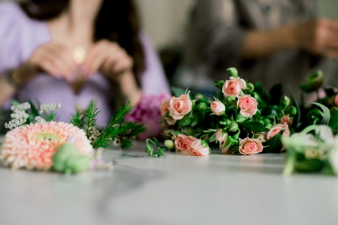 Flower Crown and Corsage