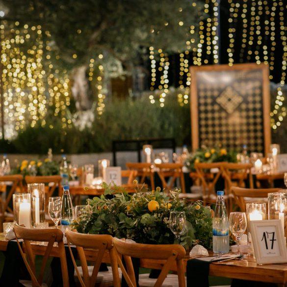 Lemons and Greenery Wedding